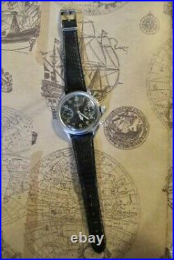 Hanhart fleiger chronograph. Montre ancienne luftwaffe
