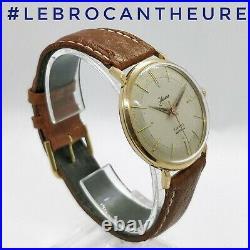 Herma 17 jewels Montre Vintage Ancienne Calibre mécanique Cupillard 256 1960