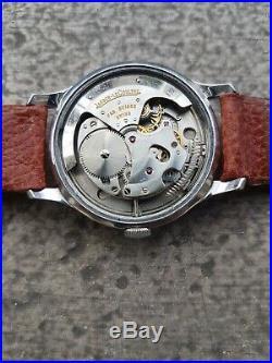 Jaeger Lecoultre Ancienne Montre Annees 50 P812 Automatic Swiss Acier Vintage