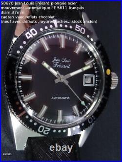 Jean-louis frésard plongée, automatique, FE5611, déstock. Nad (stock ancien)