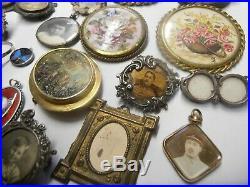 Lot De 65 Bijoux Anciens Vrac Fantaisie