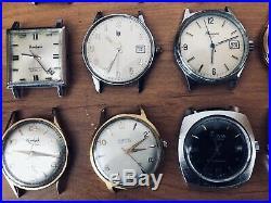 Lot de montres anciennes