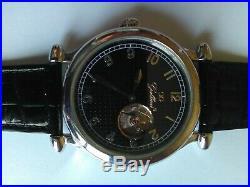 Modèle rare, Ancienne montre homme, mécanique, double face, Gallucci