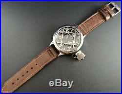 Montre Ancienne Cccp Vintage Big Watch 70's Zlatoust Diver With Box