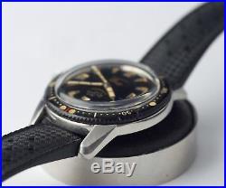 Montre Ancienne Enicar Sherpa Diver 1958 Epsa 40mm The Holy Grail US Navy Gilt