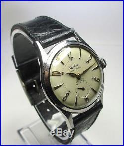 Montre Ancienne Perfex Mecanique Boitier Acier Montre Homme Vintage Watch 60