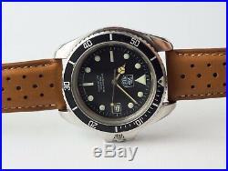 Montre Ancienne Tag Heuer Automatic Boîtier Monnin 844/5 Vintage Watch