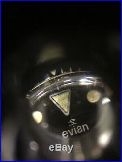 Montre Ancienne Vintage Automatique Evian Submariner Plongée Style Yema