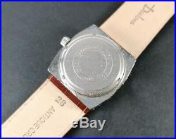 Montre Ancienne Vintage Watch 70's Anjax Swiss Made Jump Hour