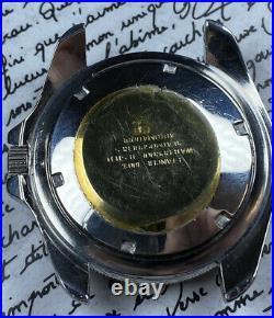 Montre Ancienne Vintage Watch Dilecta Plongée Diver Skin Style Monnin Pepsi