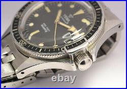Montre Ancienne Yema Superman R Quartz Fe8121 990 Feet Vintage Diver Watch