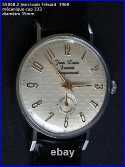 Montre Jean-louis frésard 1968, mécanique, cup. 233 (stock ancien)