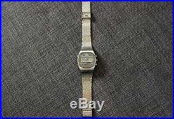 Montre ancienne OMEGA SPEEDMASTER LCD Ref186.005 CAL omega 1620 + bracelet