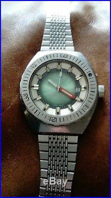 Montre ancienne plongée GIGANDET SUB 20ATM PROFESSIONAL diver's watch orlogio