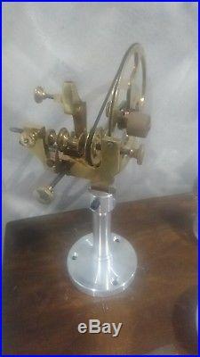 Montre gousset pocket watch bureau établi horloger tour ancien lot outils loft