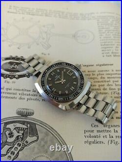 Montre plongée ancienne MONDIA 200M automatic cal as1902/03 + expandro bracelet