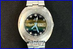 Montre plongée ancienne ROYCE LEADERSHIP 200 metres 20ATM jour/date cal AS 2066
