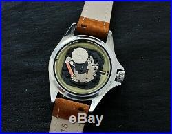 Montre plongée ancienne YEMA SUPERMAN R quartz 990feet vintage french diver