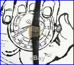 Montre rare ancienne LIP asymétrique a remontage manuel cal lip r105 trapèze