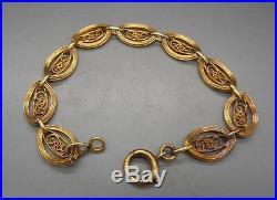 N 443 Ancien Bracelet en or 18 carats