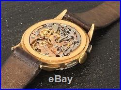 Omega Ancien Chronographe En Or Cal 320 Fonctionne Parfaitement