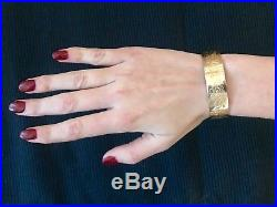 PRIX EN BAISSE bracelet ancien or 18 carats Poids 14,70 Poincon Charancon
