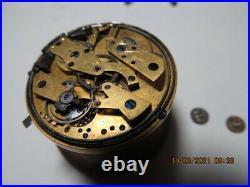 Rare Ancien Mouvement Montre Gousset -duplex- Sonnerie Repetitions Pocket Watch