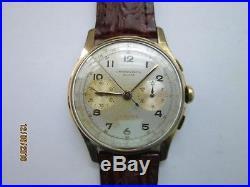 Rare & Ancienne Montre Chronographe Suisse Landeron 48