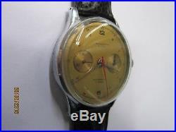 Rare & Ancienne Montre Chronographe Suisse Landeron 51