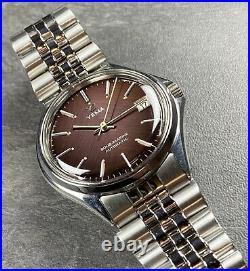 Rare Montre Ancienne Vintage Watch Yema Automatique FE 5611 Sous Marine Plongée