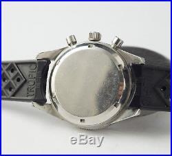 Rare Montre Ancienne Yema Daytona Valjoux 92 Panda Vintage Chronograph First