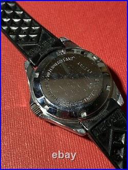 Rare Montre ancienne Vintage Watch Plongée Diver Yema Eletronic hf Type Navygraf