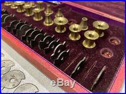 Rare outil ancien Horloger fraises carpano accessoires machine a arrondir
