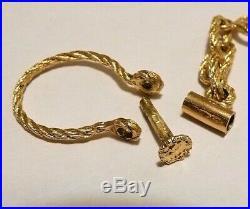 Solid Gold Jewel Couture Rare Bijou Ancien Ou Vintage En Or Massif 18 K / 9,49 G