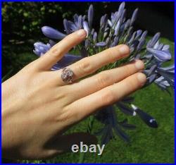 Splendide bague ancienne Toi et Moi diamants Or 18 carats gold 750 & platine