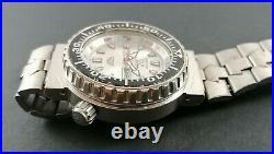 Stendardo Diver Vintage Watch Acier Montre Ancienne Plongee Quartz