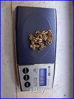 Superbe bracelet ancien or massif 18 carats 21,1 grammes