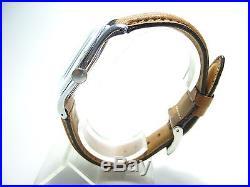 Tissot Superbe Montre Ancienne En Acier 1950's Tbe 35mm Vintage Watch