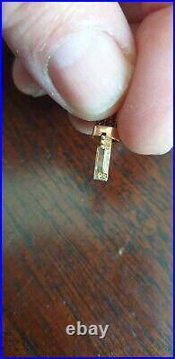 Tres Joli Collier En Or 18k Ancien Raz Le Cou De 22 Grammes Et 16,8 CM De Long