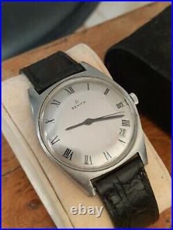 Très belle ancienne montre homme ZENITH 2542c TBE Longines Omega