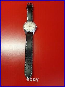 Très jolie ancienne montre homme ZENITH acier 35mm LONGINES OMEGA