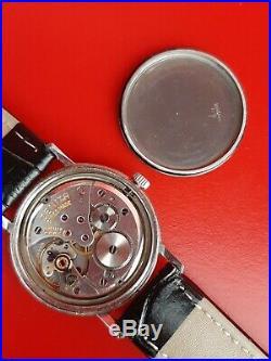 Très jolie ancienne montre homme ZENITH acier LONGINES OMEGA