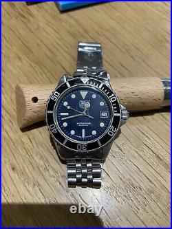 Vintage Diver Montre Plongee Ancienne Tag Heuer 1000 Professional 200 Meters
