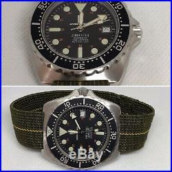 Vintage diver watch/Montre De Plongée Ancienne J. Bianchi 300m Armée De Terre