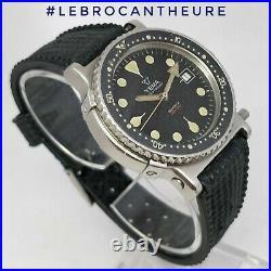 Yema Navigraf 990 Feet Quartz Superbe montre vintage Ancienne R4 0436 circa 1980